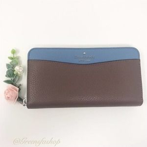 New Kate Spade Leila LG Continental Wallet